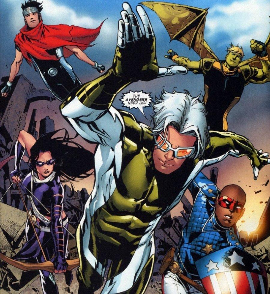 Hijos dw Wanda y Vision en los cómics