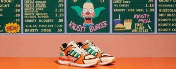Adidas Krusty ZX 10000, los nuevos sneakers de Los Simpson