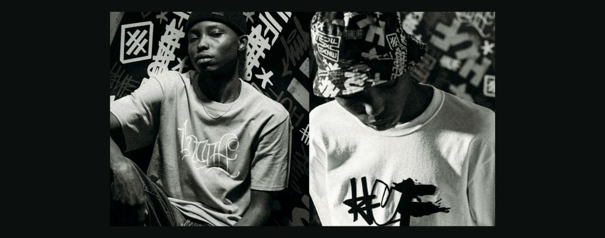 HUF y Eric Haze lanzan camisetas inspiradas en el graffiti