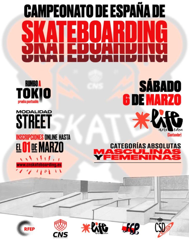 Campeonato Street de skateboarding España 2021