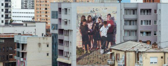 Change, cortometraje sobre el festival de mural en Kosovo