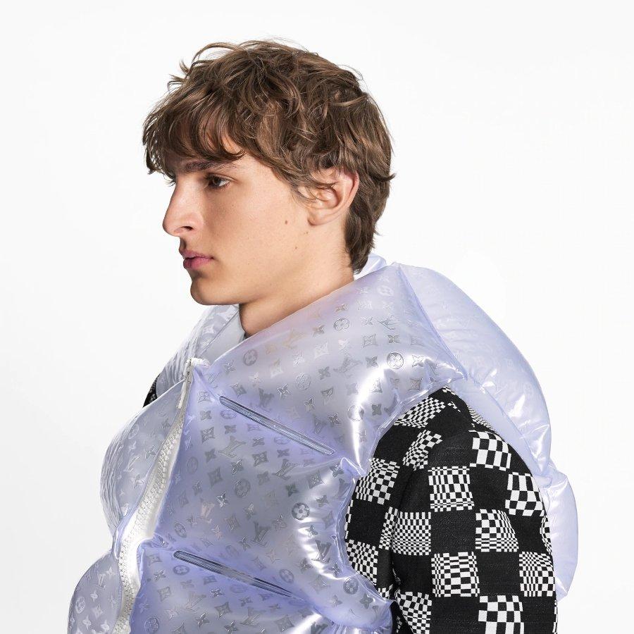 Chaquetas inflables de Louis Vuitton