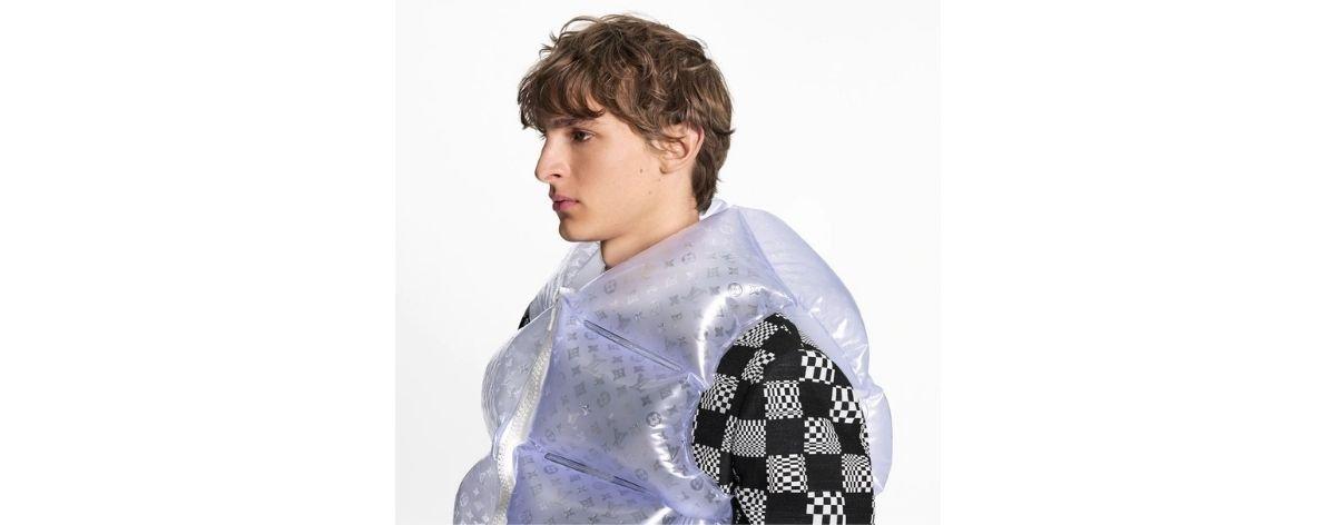 Chaquetas inflables en la nueva colección de Louis Vuitton