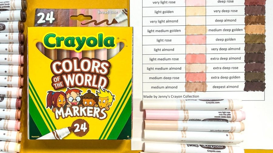"""Colors of the World"" por Crayola"