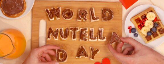 Día de la Nutella, la mejor celebración de febrero