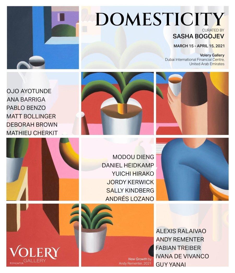 Cartel de la exposición Domesticity