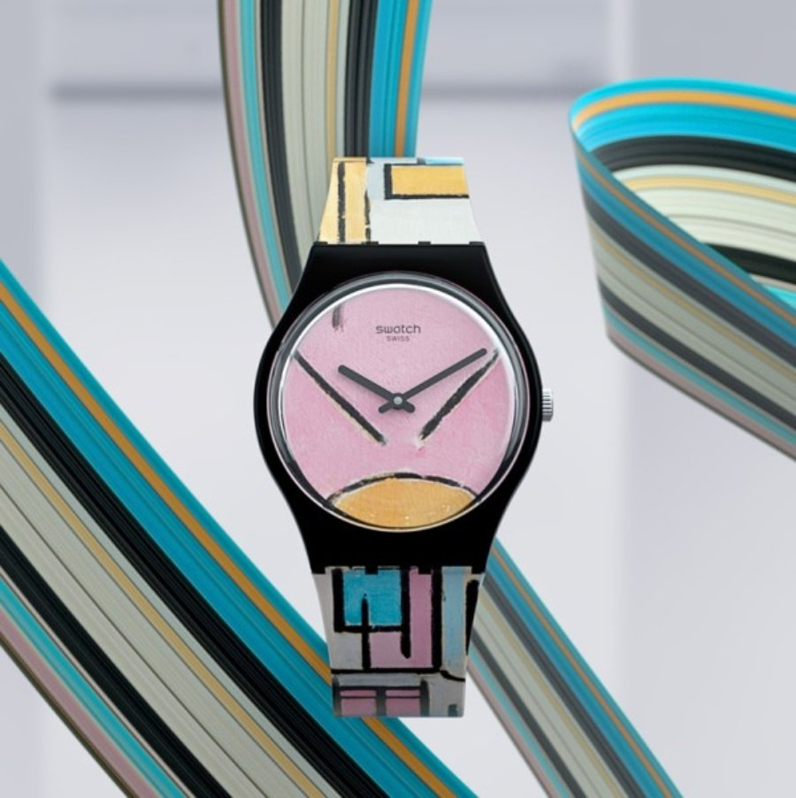 Nuevos relojes del MoMA con Swatch
