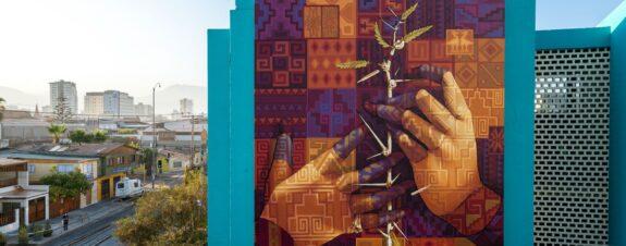 El Tamarugo, el nuevo mural de INTI en Chile