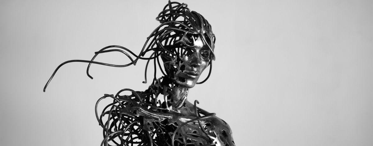 Regardt Van Der Meulen: esculturas de cuerpos humanos efímeros