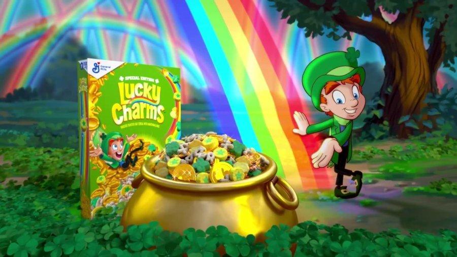 Cereal de San Patricio de Lucky Charms