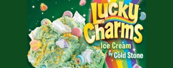Helado con polvos de oro, lo nuevo de Lucky Charms