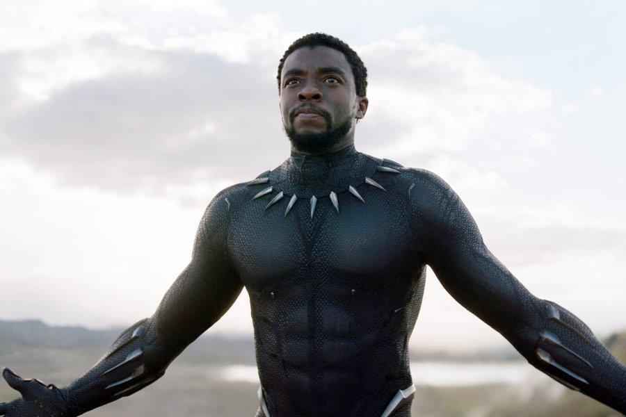 Escena de Black Panter de Marvel Studios