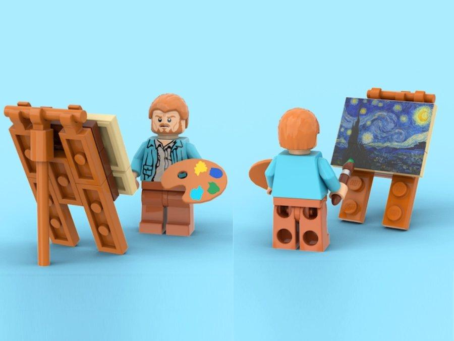 Vincent Van Gogh en LEGO