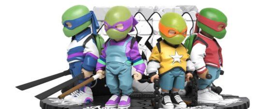 Art toys de Las Tortugas Ninja por Danil Yad