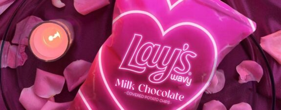 Lay's Milk Chocolate, papas con chocolate para San Valentín