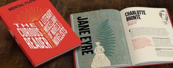 Libro ilustrado nos cuenta la historia de los novelistas más famosos