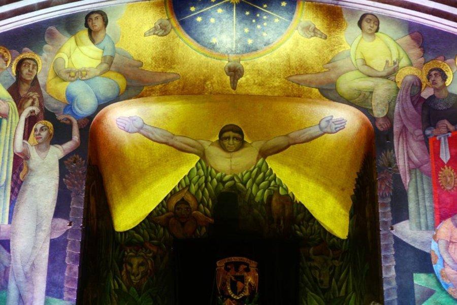 Murales de Diego Rivera: La Creación