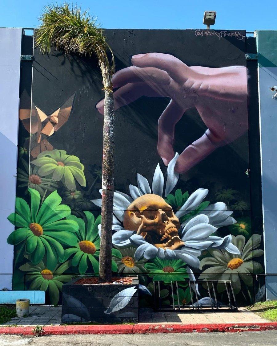 Murales del mes de febrero/ Frankye Fingers