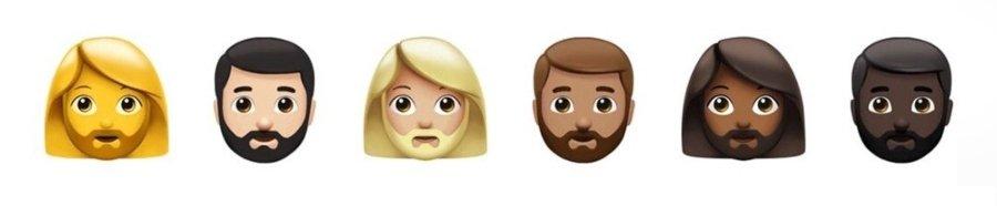 Nuevos emojis inclusivos para dispositivos de Apple