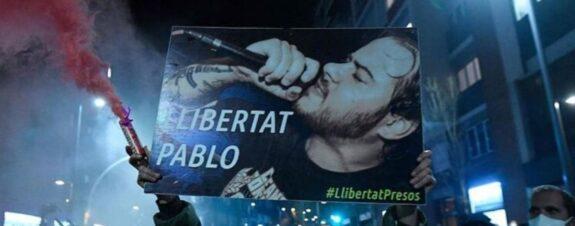 Pablo Hásel es detenido y las protestas en España no paran