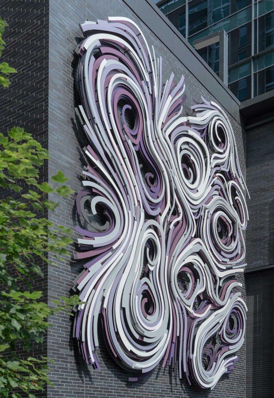 Rob Lee presentó nueva escultura