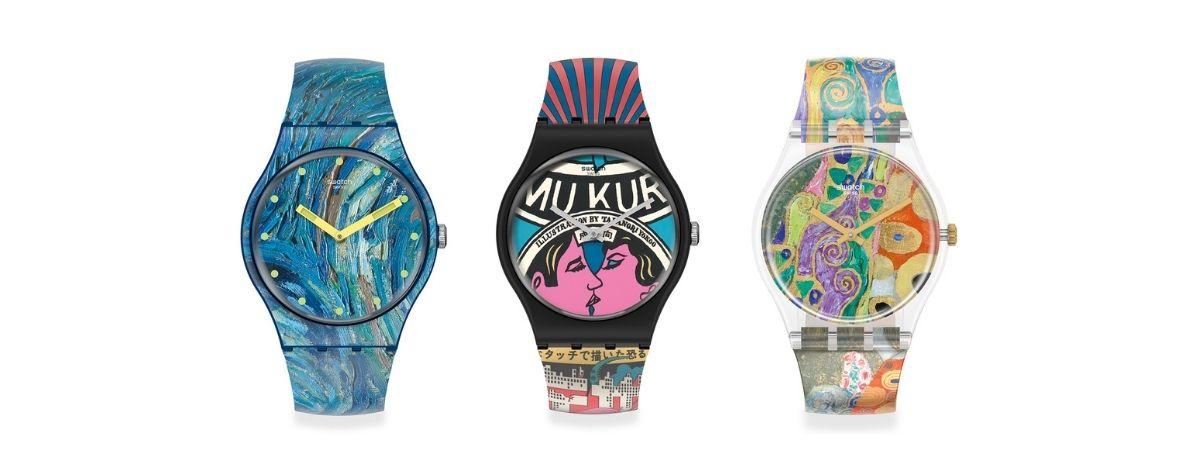 El MoMA y Swatch lanzan relojes artísticos
