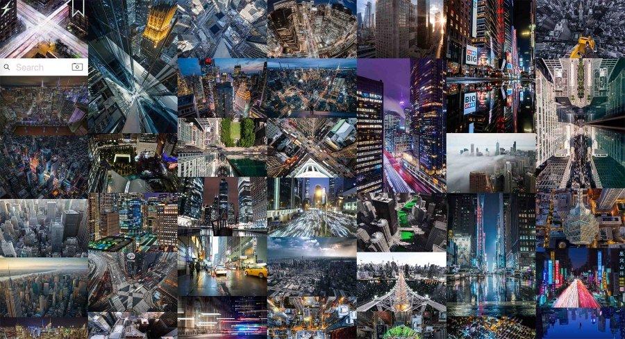 Banco de imágenes de la nueva plataforma de Jacob Jackson