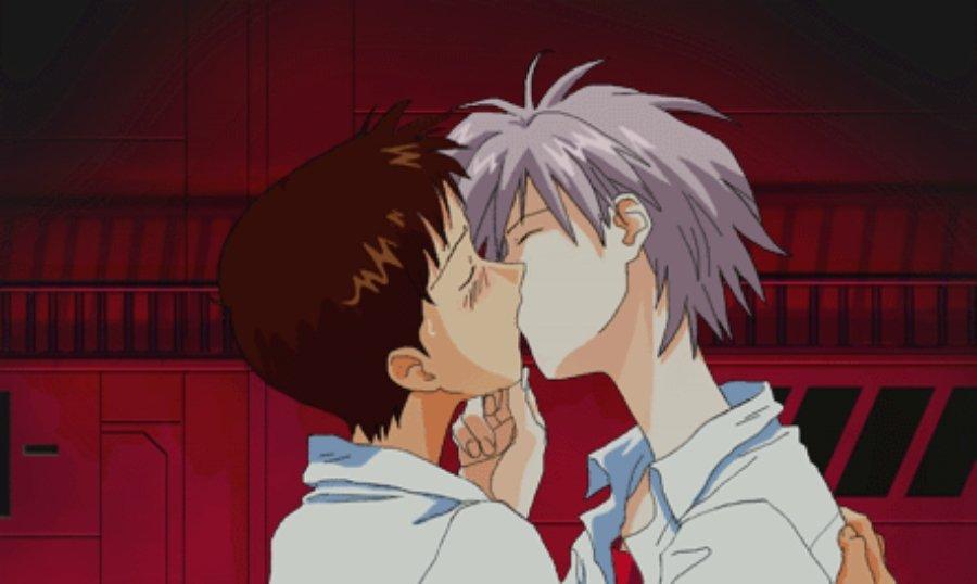 El sexo en el anime, homosexualidad, dos chicos besandose
