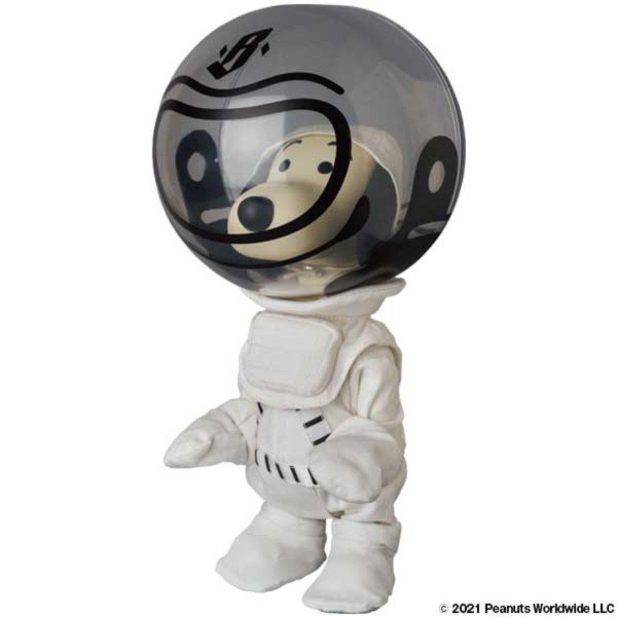 ARt toy de Snoopy con traje espacial