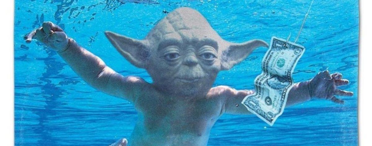 Personajes de Star Wars en portadas de discos de rock