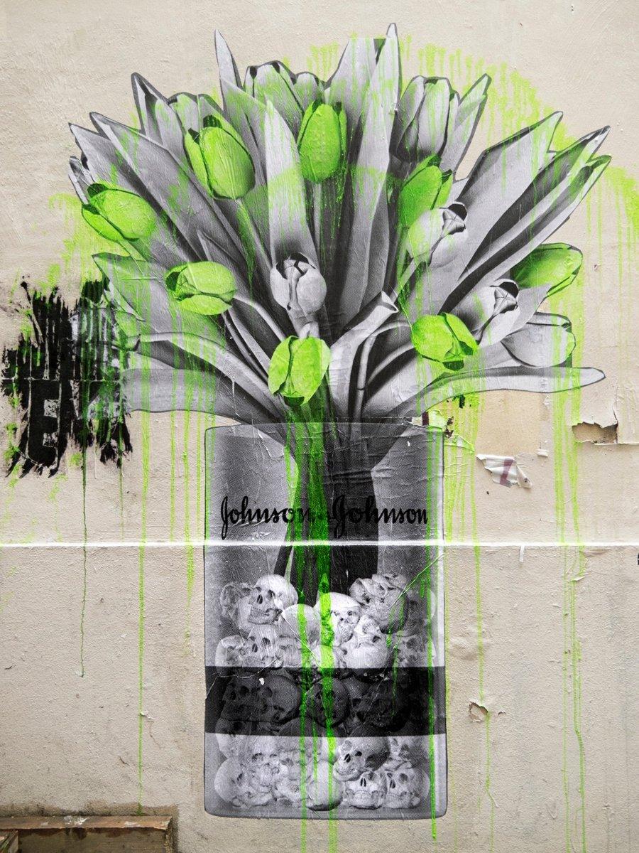 Lo nuevo de street art de  Ludo en Paris