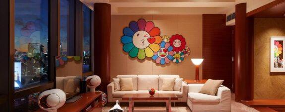 Suite de hotel diseñada por Takashi Murakami