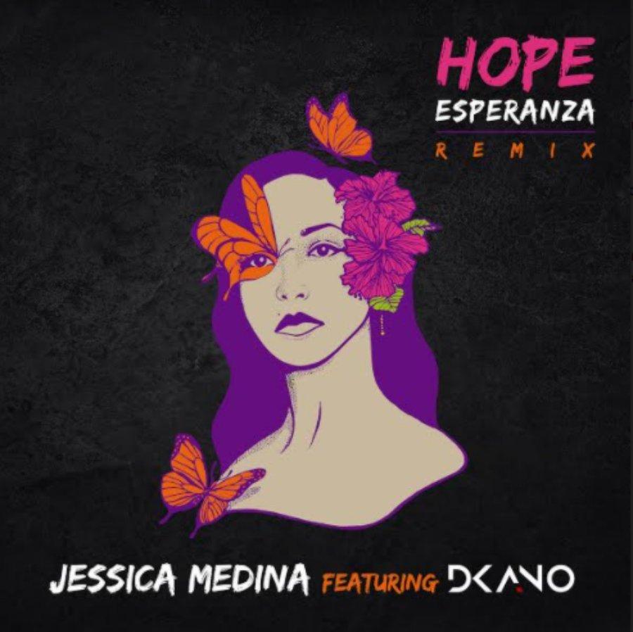 Portada del nuevo sencillo de Jessica Medina