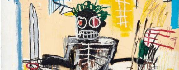 Warrior de Basquiat podría venderse en más de $31 mdd