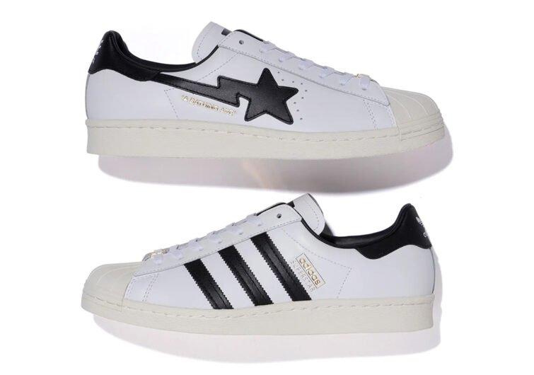 sneakers adidas blancos con negro