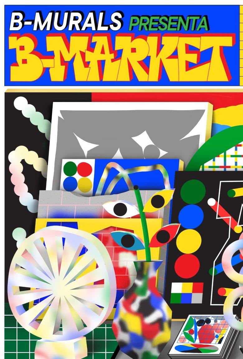 B-MARKET, la feria de arte más importante de B-MURALS en Barcelona