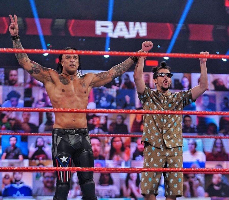 Bad Bunny como luchador en la WWE