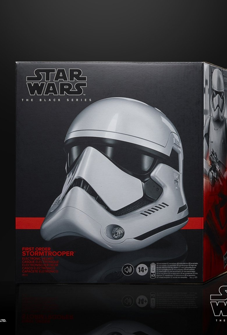 Casco de Stormtrooper, el nuevo juguete de Star Wars
