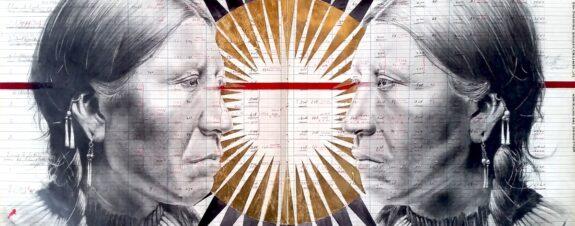 Chris Pappan explora la identidad de los nativos americanos