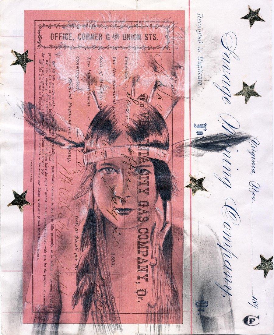 collage de imágenes de nativos americanos