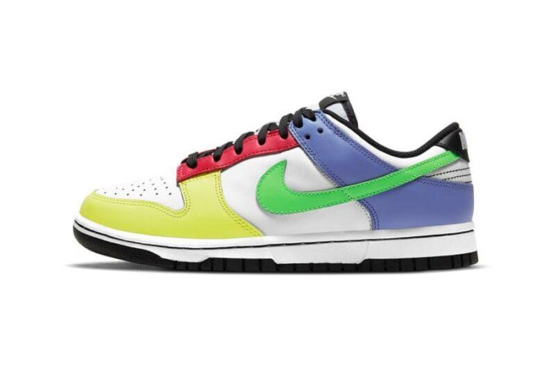 Modelo Green Strike Nike Dunk Low