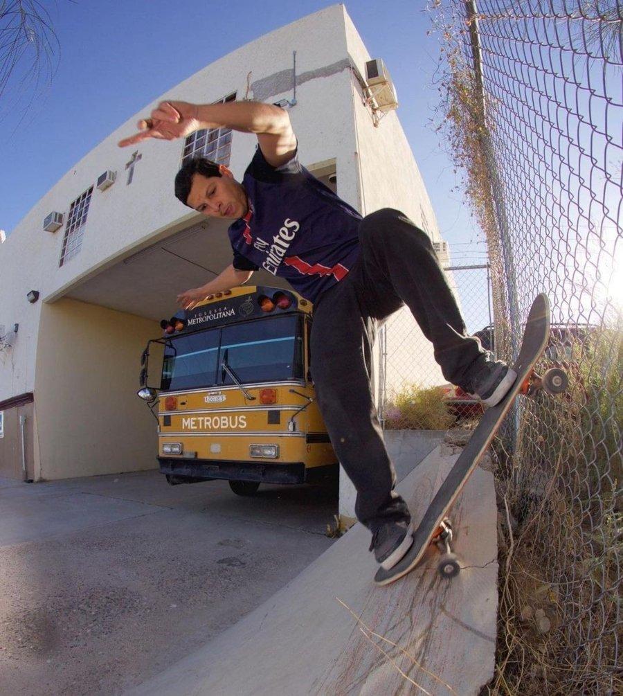 Keith González, Skate de Hermosillo