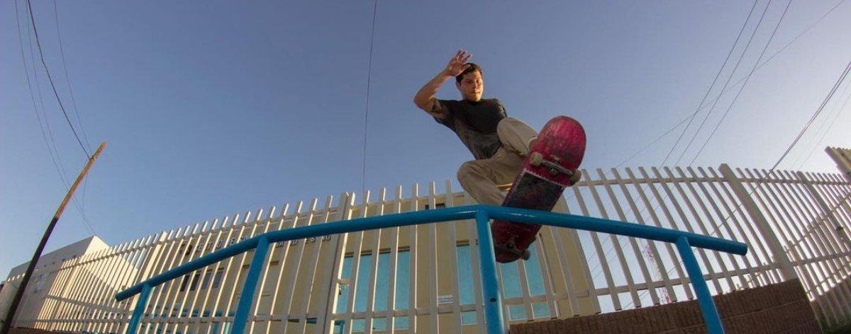 Keith González, skater que pone en alto a Hermosillo