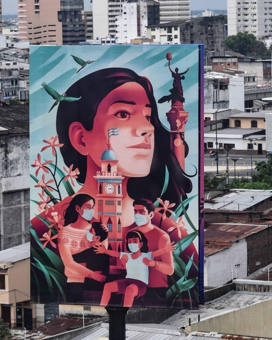Mural por Gabriel Maragano