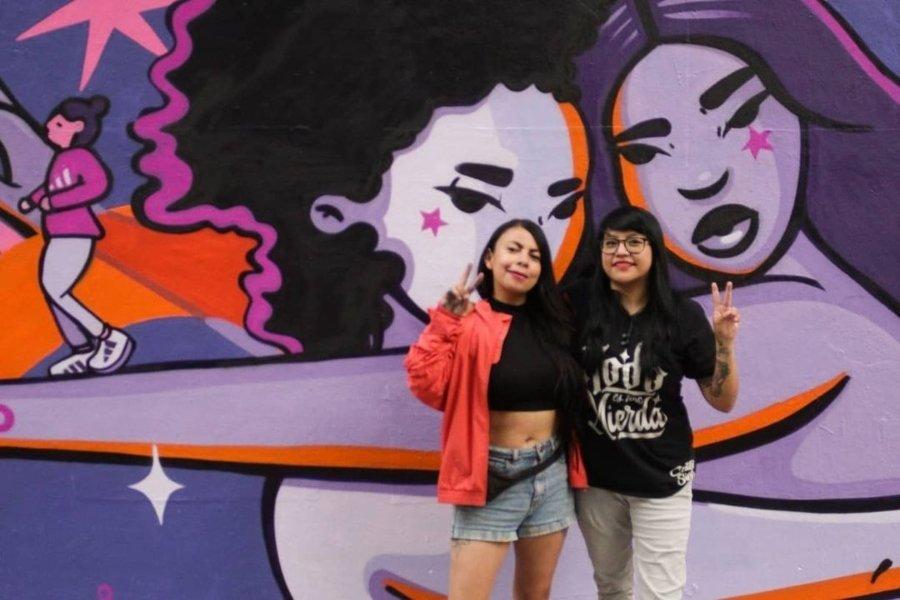 Murales de Mujeres / Janín Garcín y Cuatro Siete