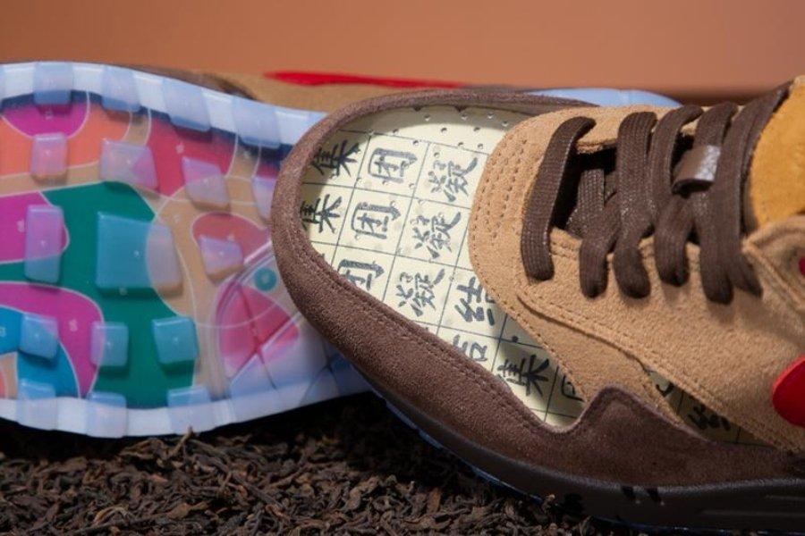 Sneakers que evocan la ceremonia del té china