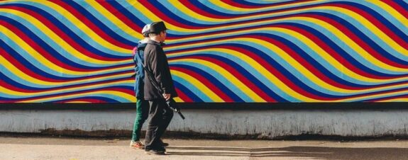 Rob Lee y el street art de las ilusiones ópticas