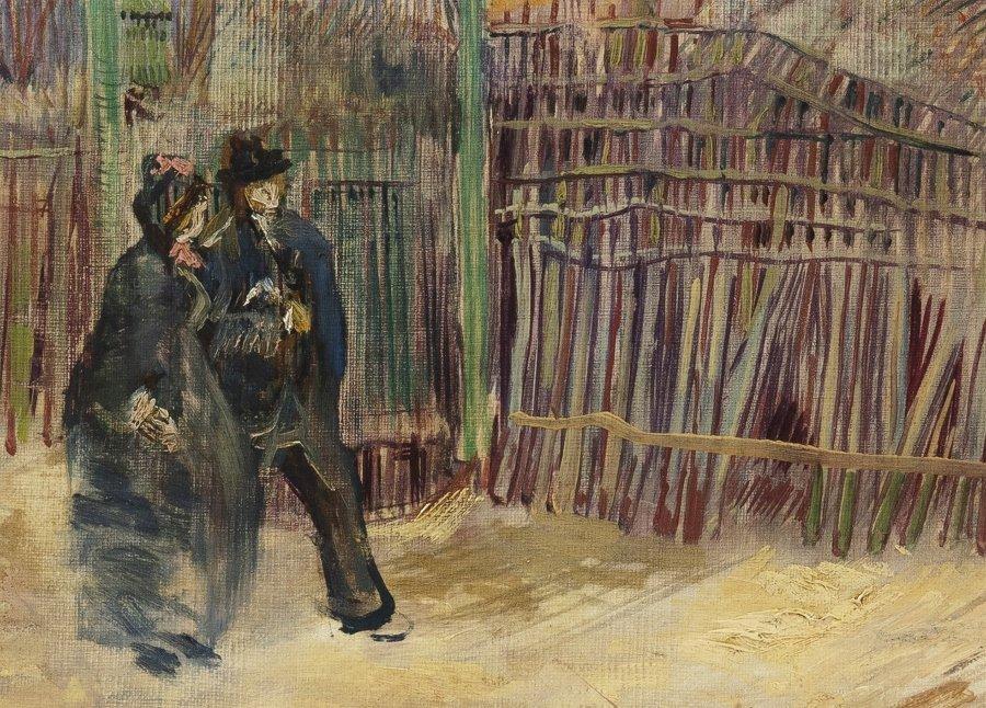 "Subastarán cuadro ""Scène de rue à Montmartre"""