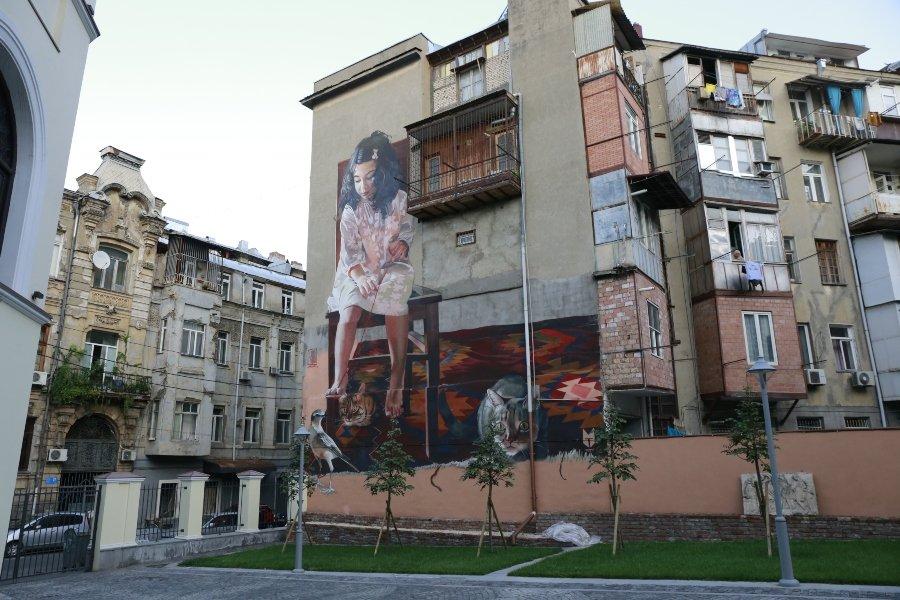 Mural de Tbilisi Mural Festival
