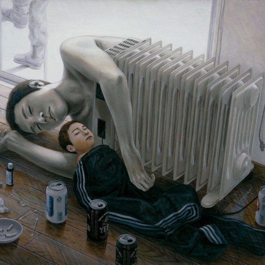 Pintura por Tetsuya Ishida